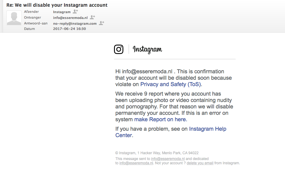How my Instagram with 75K followers got hacked with a phishing e