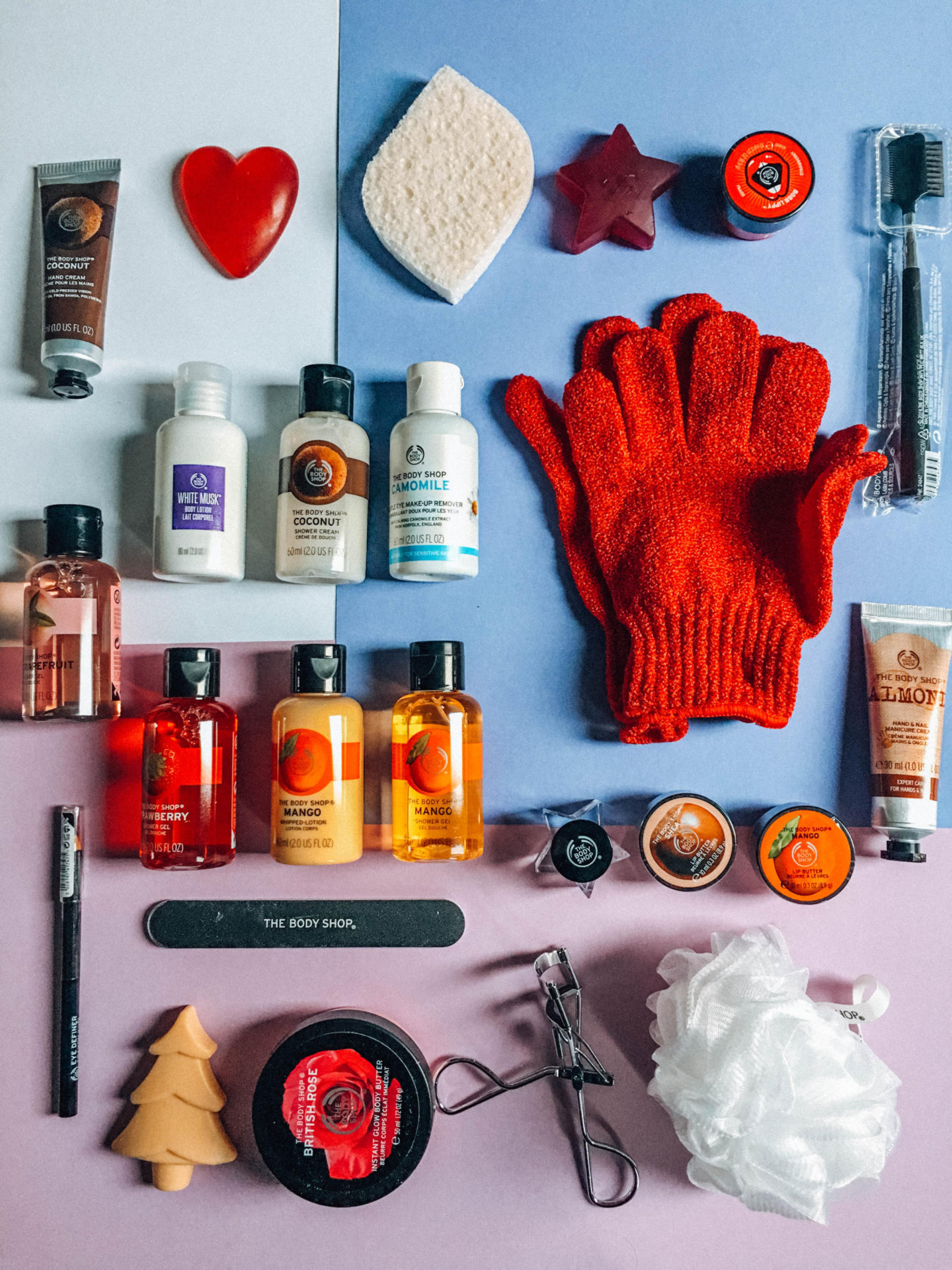 The countdown with this beauty advent calendar of The Body Shop can start